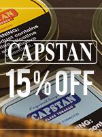 15% Off Capstan Tins