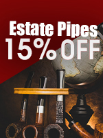 15% Off Estate Pipes