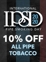 10% Off All Pipe Tobacco