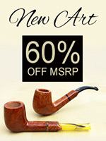 60% Off Savinelli New Art Pipes