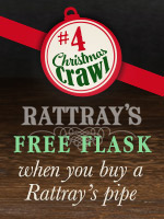 Free Rattray's Flask With Any New Rattray's Pipe