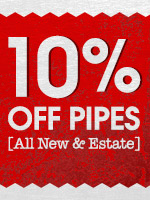 10% Off All Pipes