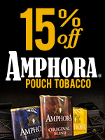 15% Off Amphora Pouch Tobacco