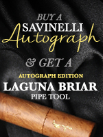 Free Autograph Laguna pipe tool with each Autograph purchased