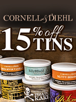 15% Off C&D Tinned Tobacco
