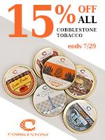 15% Off Of Cobblestone Tins