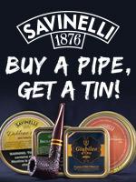 Buy a Savinelli Pipe, Get A Savinelli Tin
