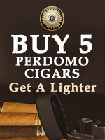 Free Torch Lighter With Any 5 Perdomo Cigars