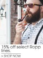 15% off Select Ropp Pipes