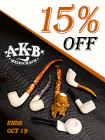 15% Off AKB Meerschaum Pipes