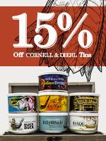 15% Off Of C&D Tins