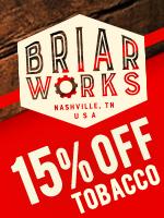 15% Off BriarWorks Tobacco