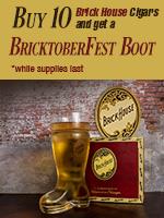 Free BricktoberFest With Any 10 Brick House Cigars