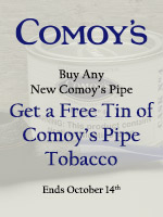 Free Comoy's Pipe Tobacco