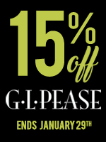 15% Off GL Pease