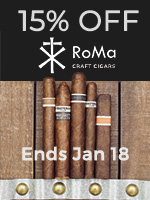 15% Off RoMa Craft Cigars
