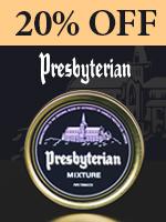 20% Off Of Presbyterian Tobacco