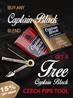 Free Czech Tool With Any Captain Black Purchase
