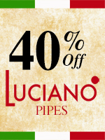 40% off Luciano pipes