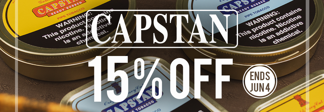 15% Off Capstan Tinned Tobacco At Smokingpipes.com