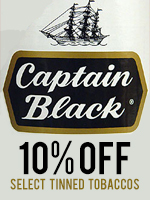 10% Off Select Captain Black