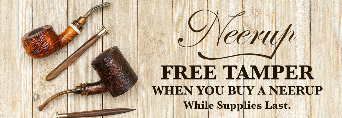 Free Tamper when you buy a Neerup at Smokingpipes.com
