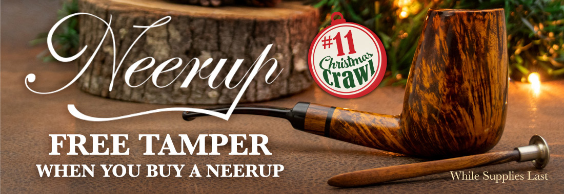 Get A Free Neerup Desert Ironwood Tamper When You Buy Any New Neerup Pipe