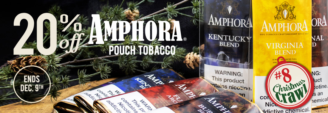 20% Off All Amphora Pipe Tobacco at Smokingpipes.com