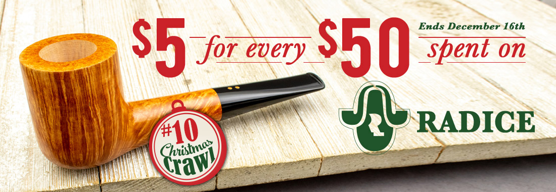 Get $5 Back on Every $50 You spend on new Radice pipes