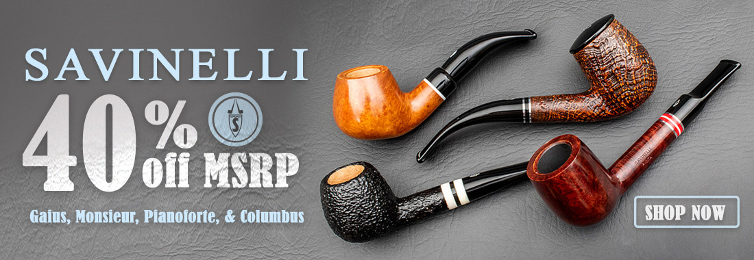 Savinelli Disco Pipes at smokingpipes.com