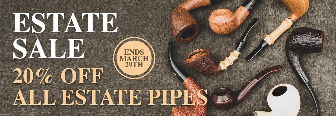 20% Off Estate Pipes At Smokingpipes.com