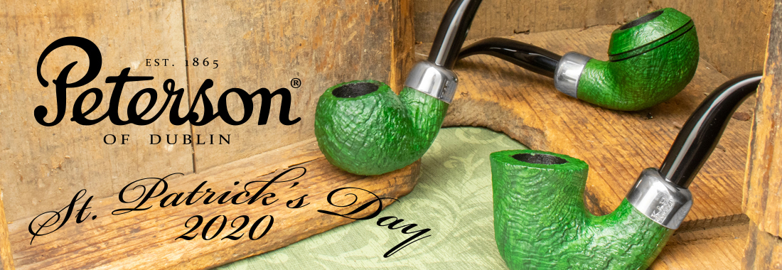 Peterson: St. Patricks Day 2020 at Smokingpipes.com