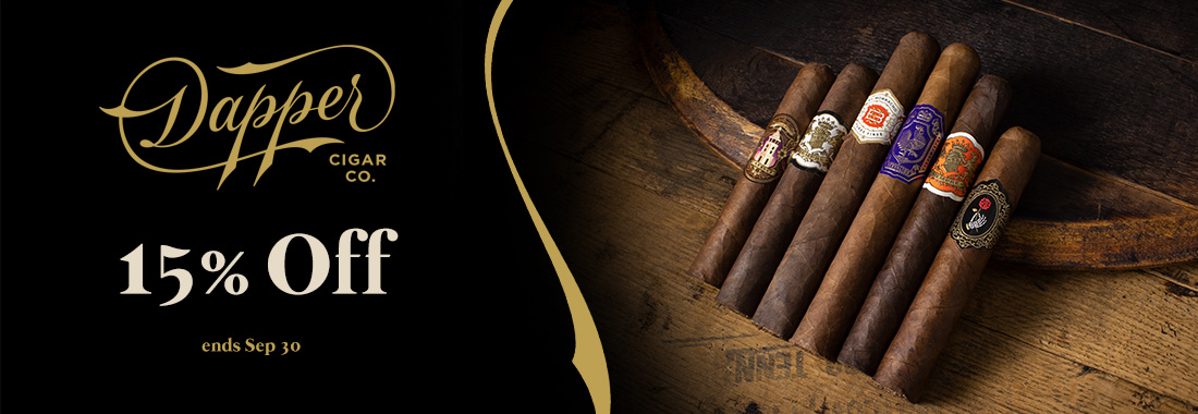 15% Off Dapper Cigars At Smokingpipes.com
