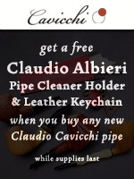 Free Claudio Albieri Accessories With Any New Cavicchi Pipe