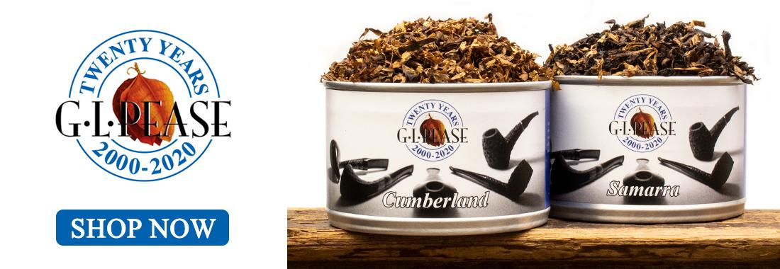 20th Anniversary G.L. Pease Tinned Tobacco