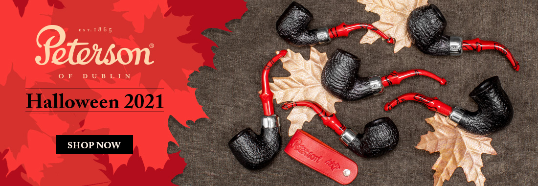 Peterson's Halloween 2021 Pipes At Smokingpipes.com