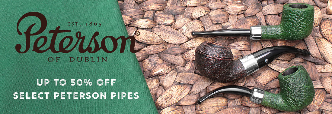 Deep Discounts On Select Peterson Pipes