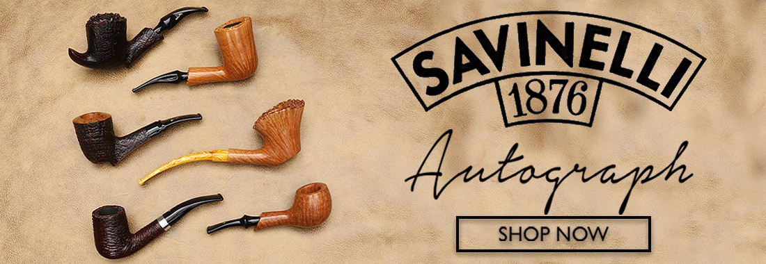 Savinelli Autograph Pipes At Smokingpipes.com