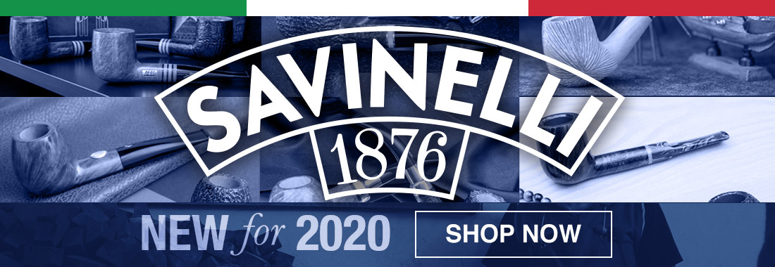 New Savinelli Pipes for 2020 at Smokingpipes.com
