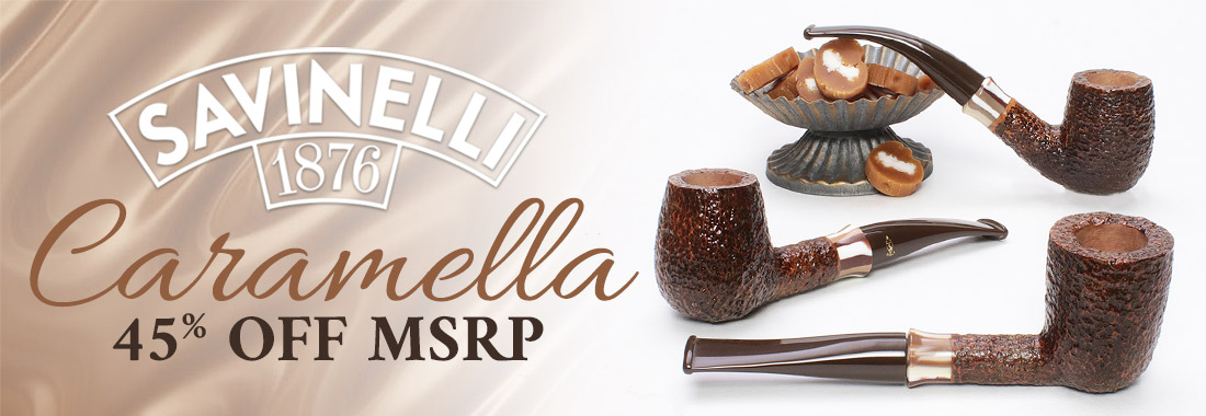 Savinelli Caramella Pipes - 45% Off MSRP