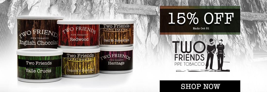 15% Off Two Friends Tinned Pipe Tobacco At Smokingpipes.com