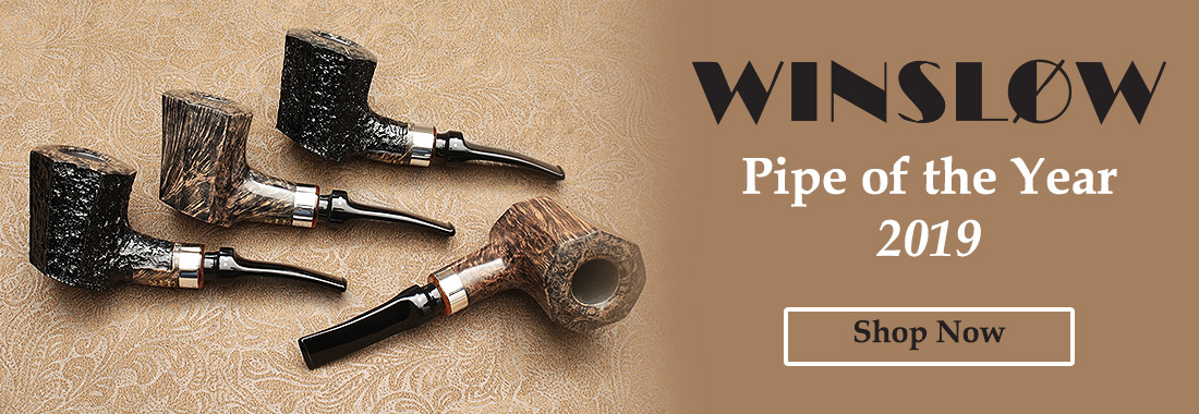 Winslow Pipe of the Year 2019 Pipes at Smokingpipes.com