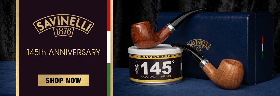 Savinelli 145th Anniversary Project At Smokingpipes.com
