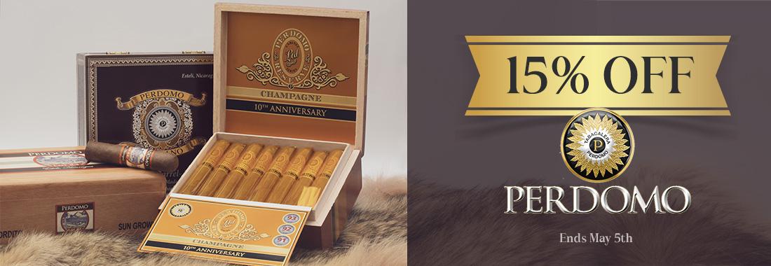 15% Off Of Perdomo Cigars At Smokingpipes.com