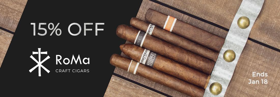 15% Off Of RoMa Craft Cigars At Smokingpipes.com