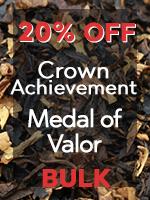 20% Off Crown Achievement & Medal of Valor